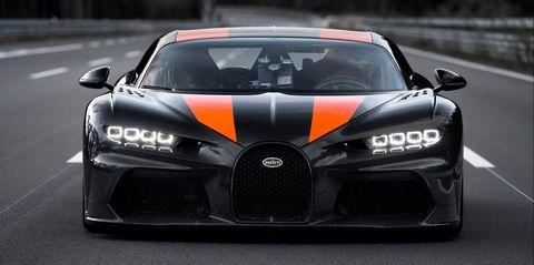 Bugatti Super Sport >> Bugatti Chiron Super Sport 300 Went Airborne During Record Run