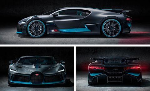 The Bugatti Divo is a $5.8 Million Hypercar Based on the Chiron