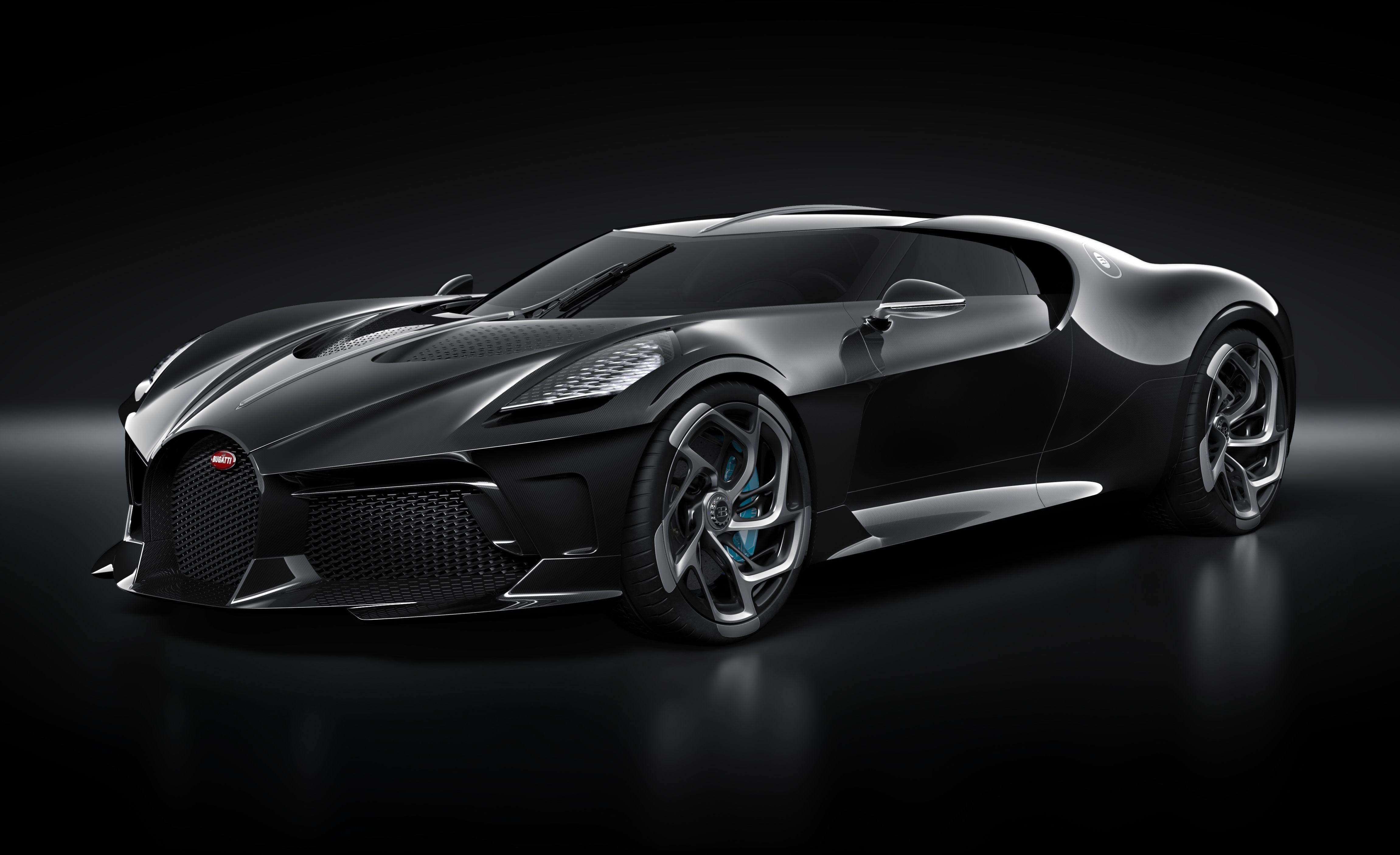 Every Angle of the $18.9 Million Bugatti La Voiture Noire