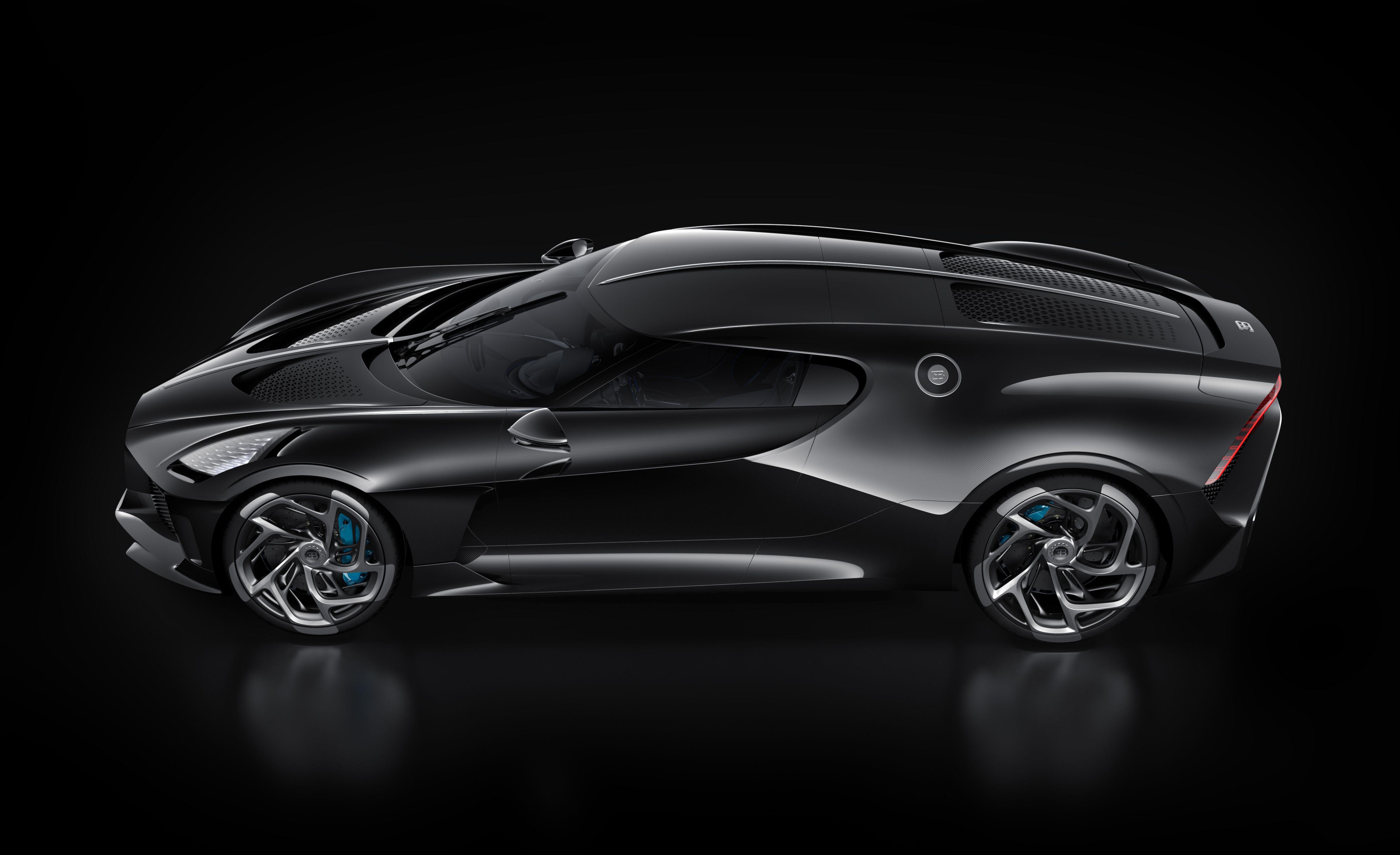 Every Angle Of The 18 9 Million Bugatti La Voiture Noire