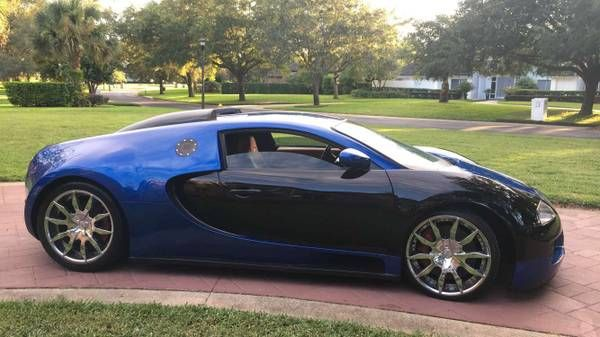 Florida Man Selling Bugatti Veyron for $125,000; It's Actually an '02 Cougar