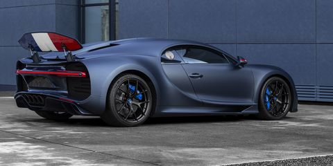 Bugatti's Anniversary Chiron Sport Is a Tribute to the French Tricolor