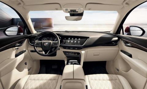 2021 buick envision compact crossover looks as good inside