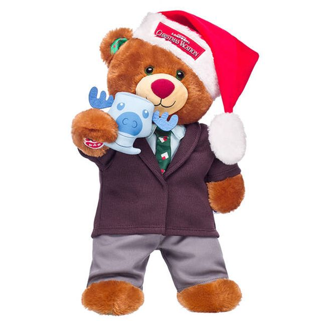 build a bear 'national lampoon's christmas vacation' clark griswold bear