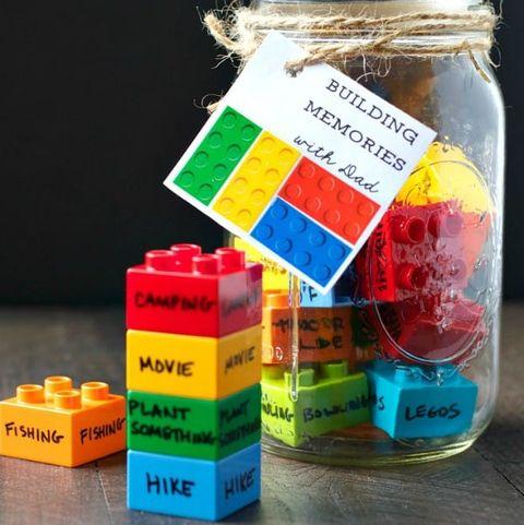 father's day crafts preschool the seasoned mom building memories lego jar