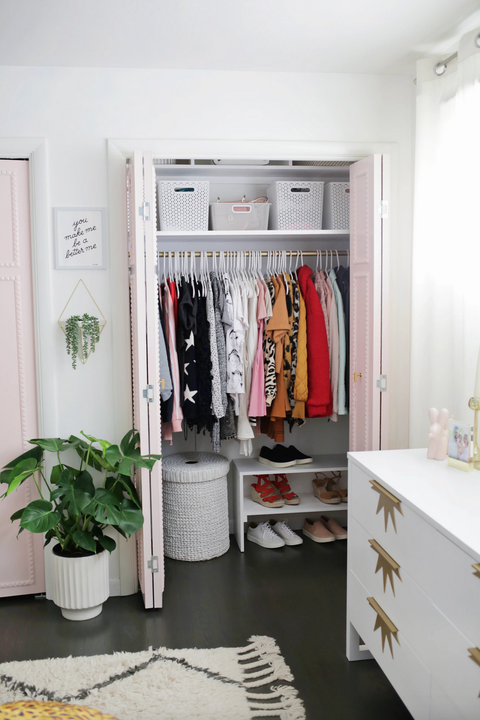 built in closet organization ideas