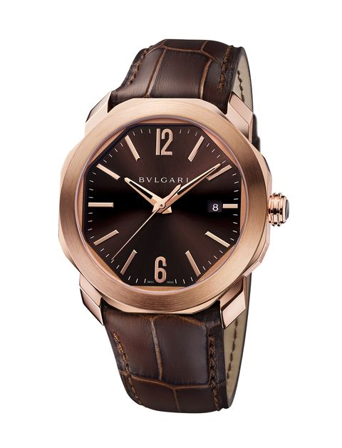 Watch, Analog watch, Watch accessory, Strap, Brown, Fashion accessory, Jewellery, Brand, Material property, Hardware accessory,