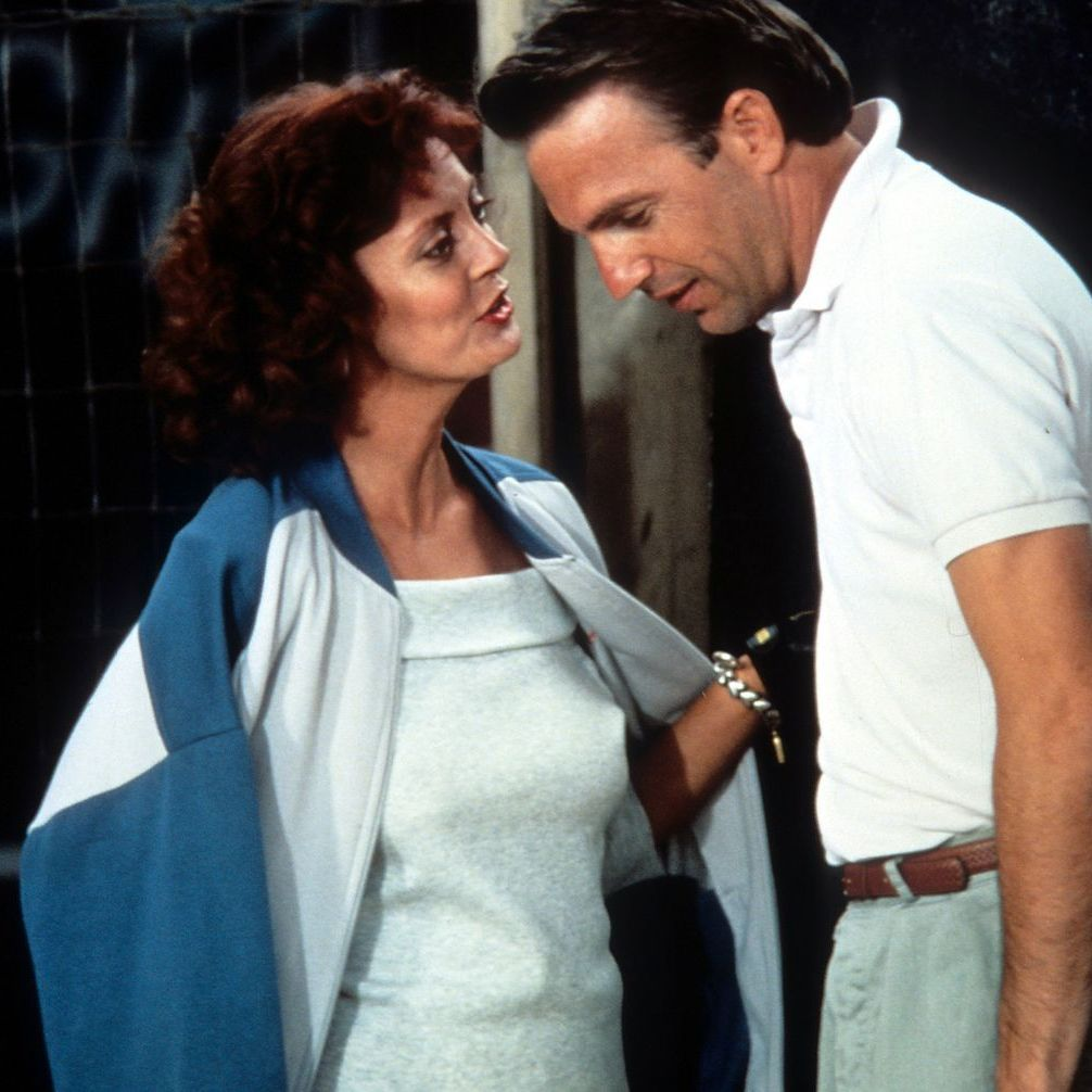 Bull Durham Kevin Costner plays Crash Davis, a veteran minor league catcher sent down to the single-A Durham Bulls to mentor Tim Robbins as hotshot pitcher Nuke. It's a clash of egos that gets even more complex when Susan Sarandon's Annie—a minor league baseball groupie—enters the picture.