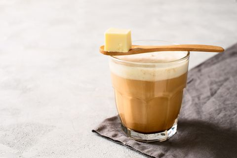 Bulletproof coffe keto diet energy drink