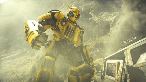 Why Bumblebee didn't use any Transformers footage