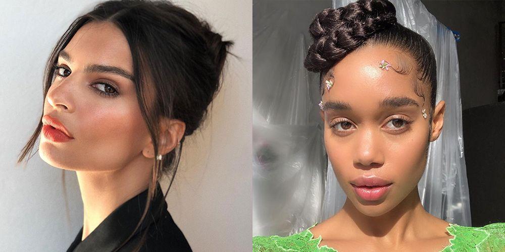 20 Bun Hairstyle Ideas That Require Virtually No Energy