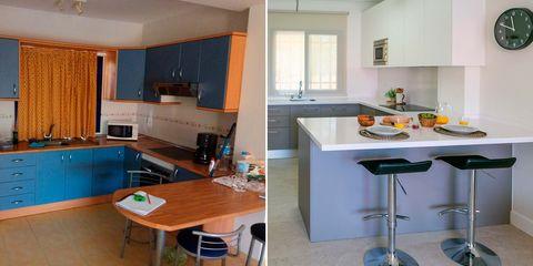apartamento en gran canaria, antes y después