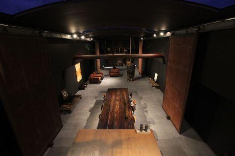 Room, Architecture, Building, Photography, Interior design, Night, Floor,