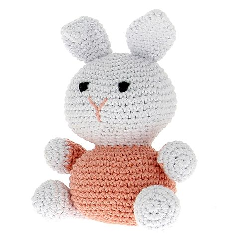 DIY Crochet Kit Bunny Eco Barbante Apricot