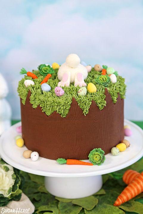 bunny cake chocolate