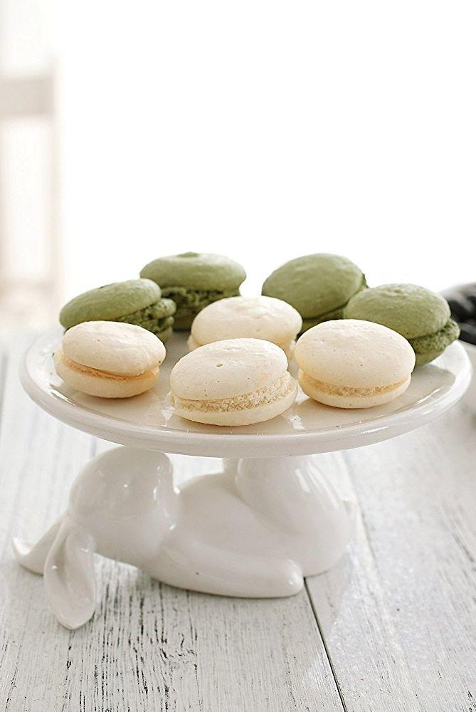 ceramic bunny desserts stand