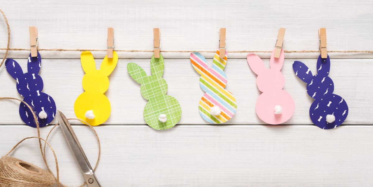 Cute Bunny Crafts for Easter That Kids and Adults Will Love