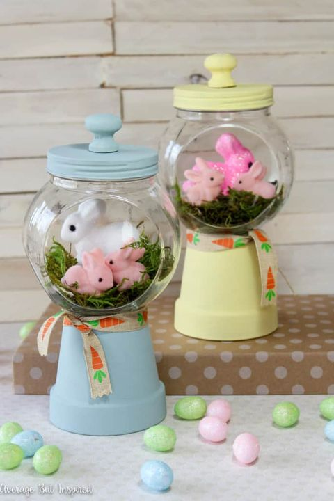 bunny crafts gumball machines