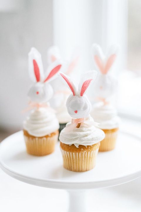 cupcake toppers bunny crafts