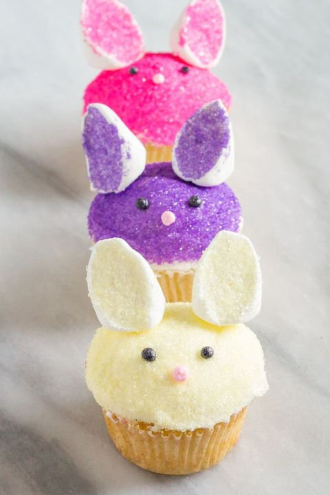 bunny cupcakes easter desserts