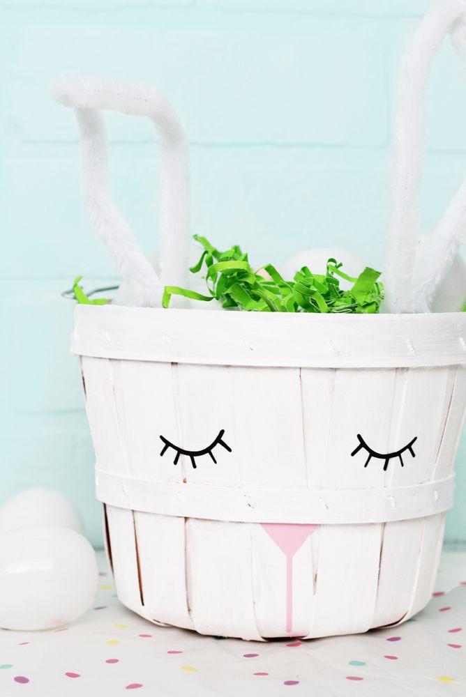 Bunny Basket - Easter Basket Ideas