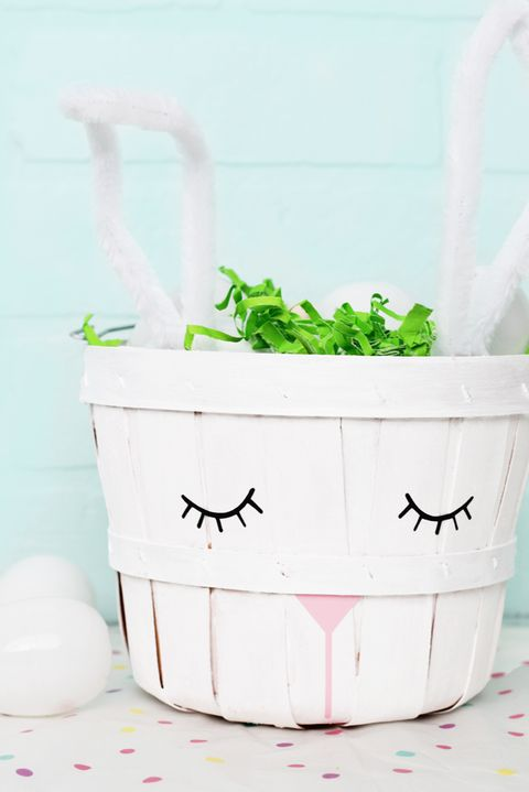 Bunny Basket - Easter Basket Ideas