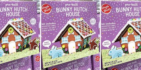 Forget Gingerbread Houses — Costco Is Selling a Bunny Hutch for Springtime