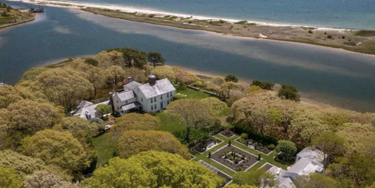 Inside Bunny Mellon's Historic Family Home in Cape Cod That Just Listed for $19.8 Million