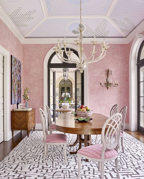 trends we loved this decade bunny williams pink dining room veranda