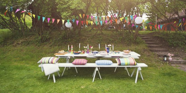 decorate for a summer garden party