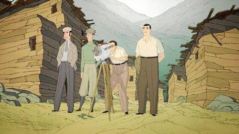 """""""Buñuel en el laberinto de las tortugas"""" de Salvador Simó"""