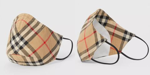 burberry推出經典「格紋口罩」!台灣限定通路千元價格就能入手