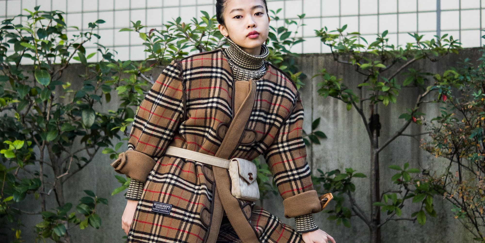 Turned Inside Out, the Classic Burberry Trench Reaches Peak Streetwear Status
