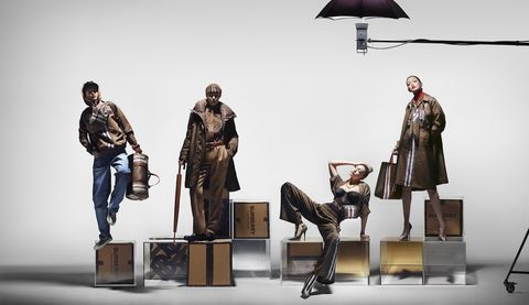 263a60c88adb85 Burberry Monogram Collection - Gigi Hadid Stars in Burberry's New ...