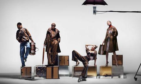 Nick Knight Gigi Hadid Burberry Campaign