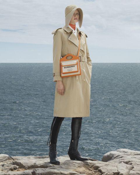 burberry經典風衣外套