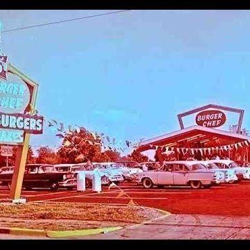 Vehicle, Diner, Car, Signage, Building, Motel, Filling station, Restaurant, Car dealership,