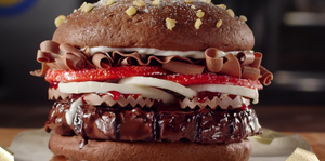 burger king hamburguesa chocolate