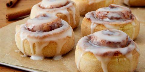 Dish, Food, Cinnamon roll, Cuisine, Sweet Rolls, Dessert, Baked goods, Ingredient, Baking, Sticky bun,