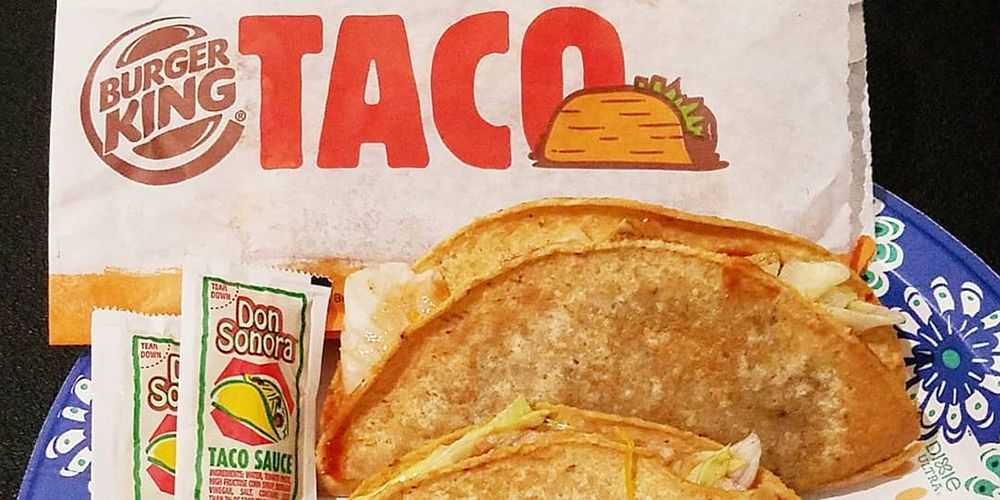 Burger King Is Selling A Crispy Taco Loaded With Beef And