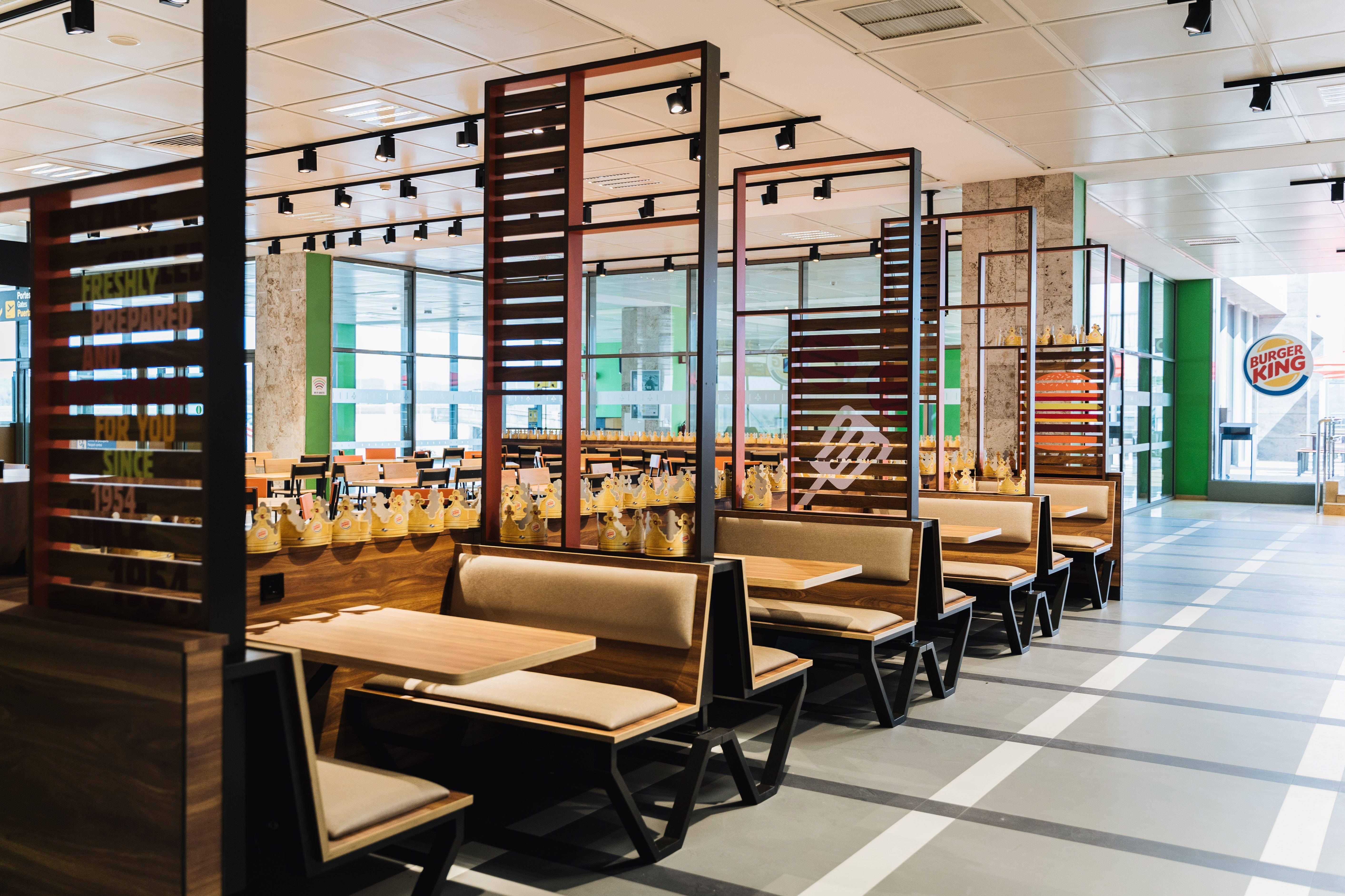 Burger King abre un restaurante en el Aeropuerto de Girona