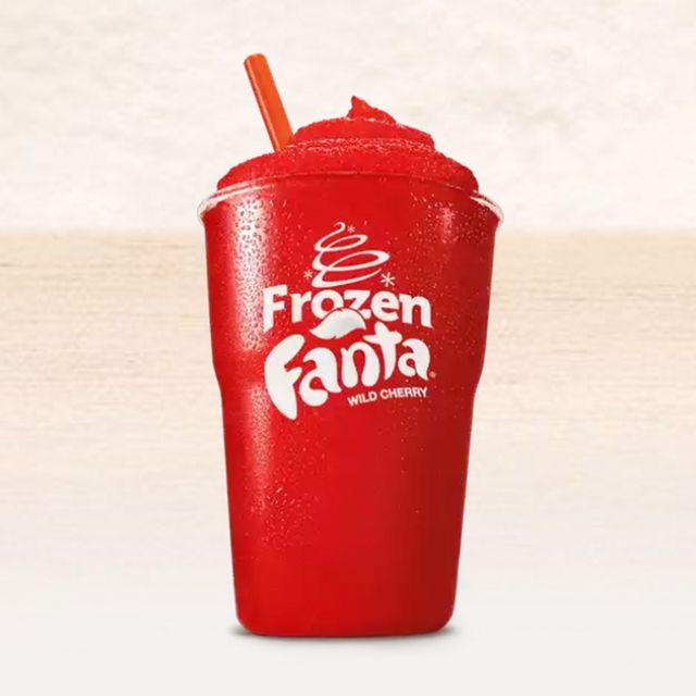 burger king frozen fanta wild cherry