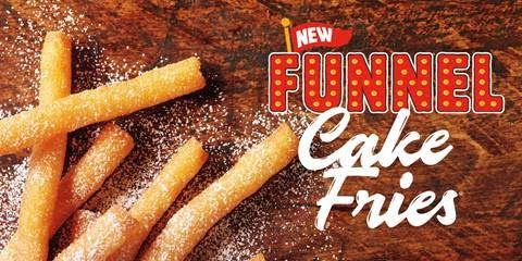 Burger King funnel fries