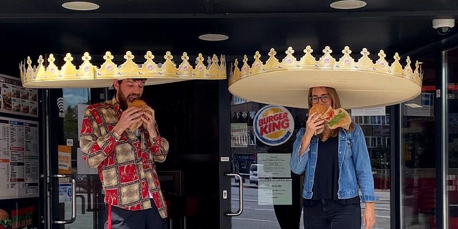 Burger King's New Social Distancing Crowns Are Totally Ridiculous (And We Kind Of Want One)