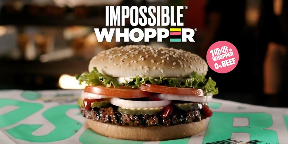 Burger King Is Testing A Beef Free Impossible Whopper