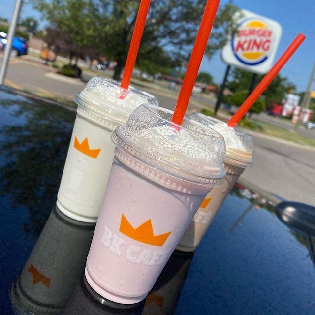 burger king mini shakes