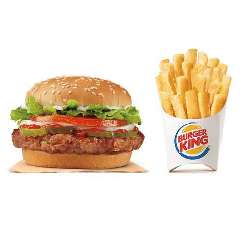 Dish, Food, Junk food, Fast food, French fries, Hamburger, Kids' meal, Cheeseburger, Fried food, Cuisine,