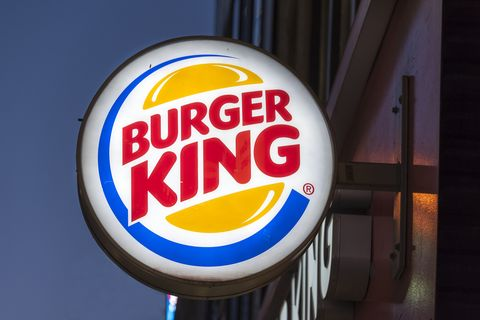 Burger King signage outside its restaurant in Toronto.