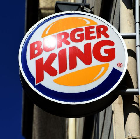 marseille, france   20200718 the burger king logo seen at a restaurant branch in marseille photo by gerard bottinosopa imageslightrocket via getty images