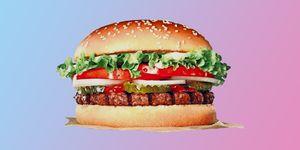 Vegetarische Whopper